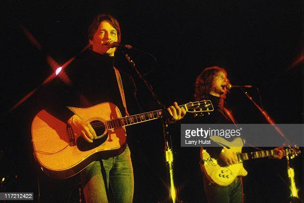 Gene Clark and Roger McGuinn performs at Freeborn Hall in Davis California on January 1 1977