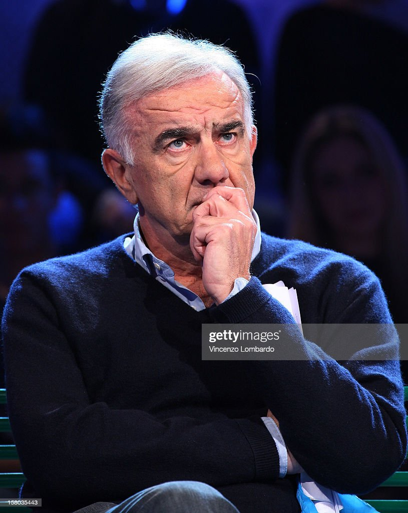 Gene Gnocchi attend 'Cielo Che Gol' Italian TV Show on December 9, 2012 in Milan, Italy.