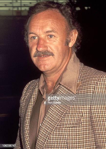 Gene Hackman during Gene Hackman Sighting at Chasen's Restaurant April 17 1977 at Chasen's Restaurant in Beverly Hills California United States