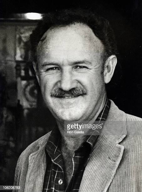 Gene Hackman during Gene Hackman Sighting on Rodeo Drive March 24 1979 at Rodeo Drive in Beverly Hills California United States