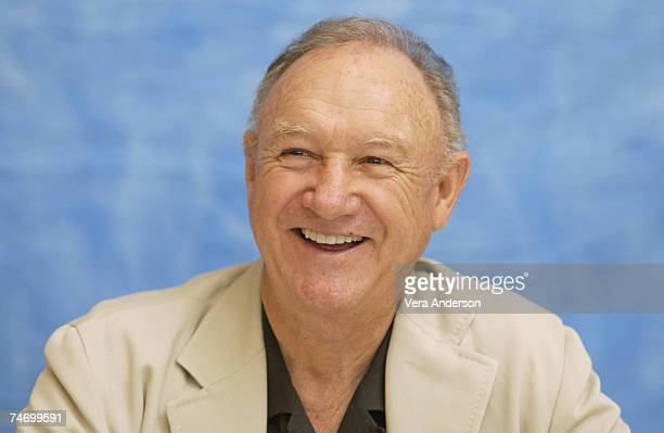 Gene Hackman during 'Runaway Jury' Press Conference with Dustin Hoffman Gene Hackman John Cusack and Rachel Weisz at the Wyndham Hotel in New Orleans...
