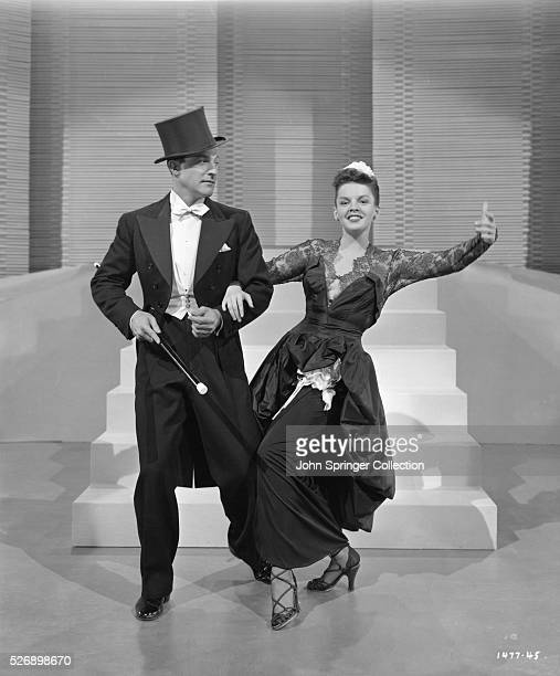 Gene Kelly and Judy Garland dance in a publicity still for the 1950 film Summer Stock