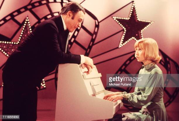 Gene Kelly and Sandy Duncan on a TV show London 1974
