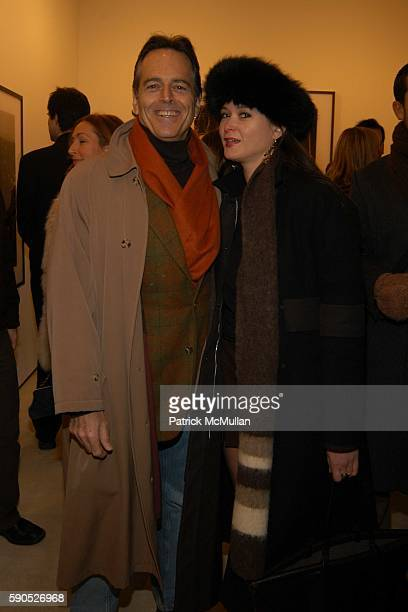 Gene Pressman and Chrstine Silada attend The Opening of 'Pam American Icon' Photographs by Sante D'Orazio at Stellan Holm Gallery on January 21 2005...