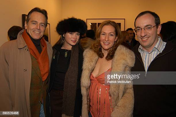 Gene Pressman Christine Silata Ilene Rosenzweig and Rick Maron attend The Opening of 'Pam American Icon' Photographs by Sante D'Orazio at Stellan...
