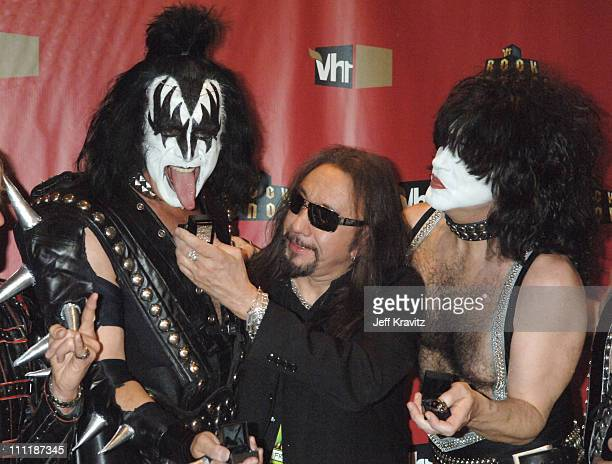 Gene Simmons Ace Frehley and Paul Stanley of KISS