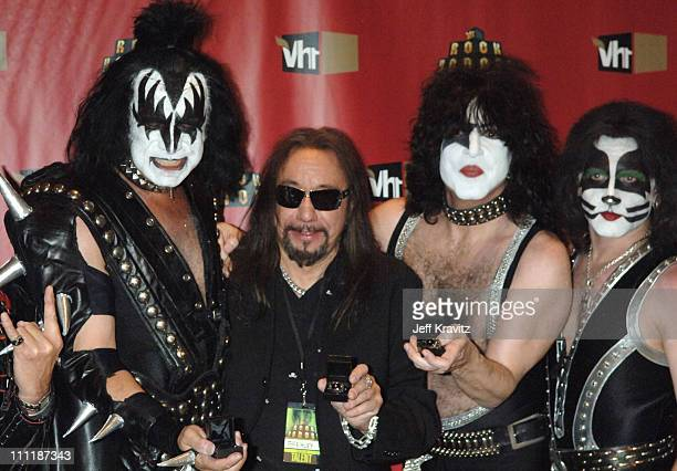 Gene Simmons Ace Frehley Paul Stanley and Eric Singer of KISS