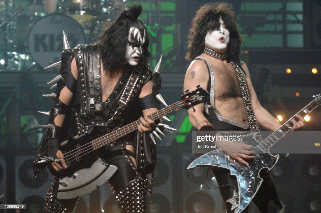 Gene Simmons and Paul Stanley of KISS during 2006 VH1 Rock Honors - Show at Mandalay Bay Hotel and Casino in Las Vegas, Nevada, United States.