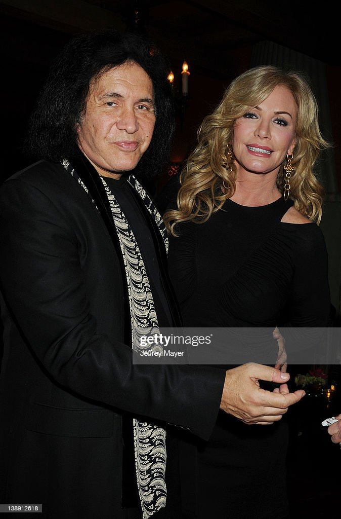 <a gi-track='captionPersonalityLinkClicked' href=/galleries/search?phrase=Gene+Simmons&family=editorial&specificpeople=138593 ng-click='$event.stopPropagation()'>Gene Simmons</a> and <a gi-track='captionPersonalityLinkClicked' href=/galleries/search?phrase=Shannon+Tweed&family=editorial&specificpeople=226528 ng-click='$event.stopPropagation()'>Shannon Tweed</a> attend the Universal Music Group 54th Grammy Awards Viewing Reception hosted by Lucian Grainge at private residence on February 12, 2012 in Los Angeles, California.