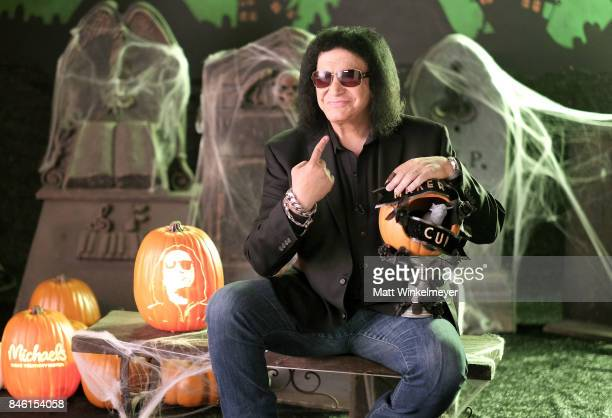 Gene Simmons behind the scenes of Making with Michaels on August 23 2017 in Los Angeles California
