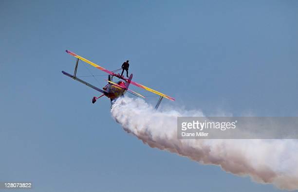 Gene Soucy aerobatic performer