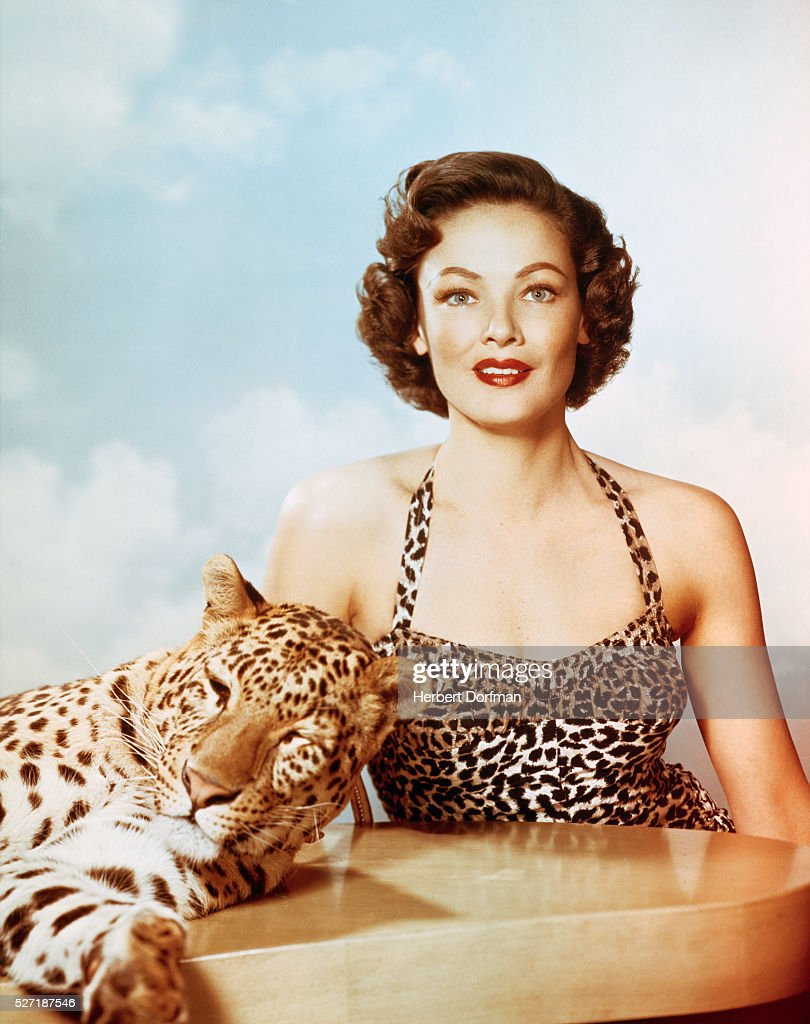 <a gi-track='captionPersonalityLinkClicked' href=/galleries/search?phrase=Gene+Tierney&family=editorial&specificpeople=213598 ng-click='$event.stopPropagation()'>Gene Tierney</a> and Leopard