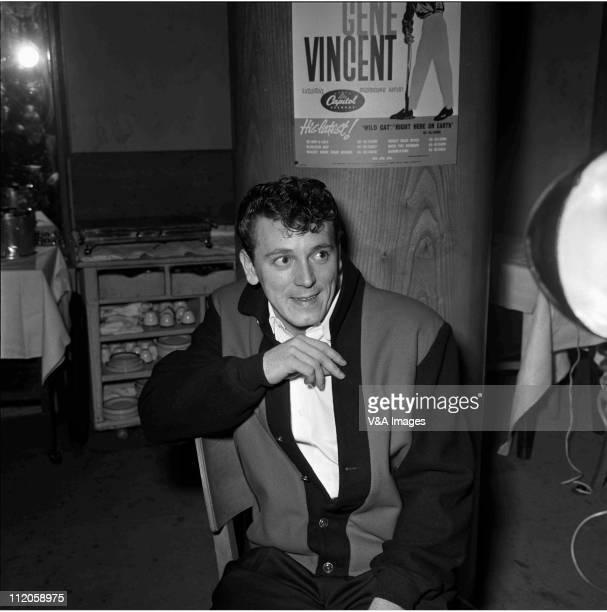 Gene Vincent posed 1960