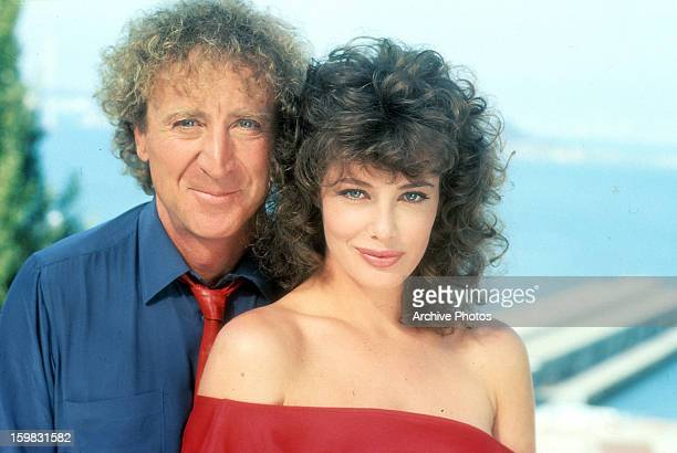 Gene Wilder and Kelly LeBrock in publicity portrait for the film 'The Woman In Red' 1984