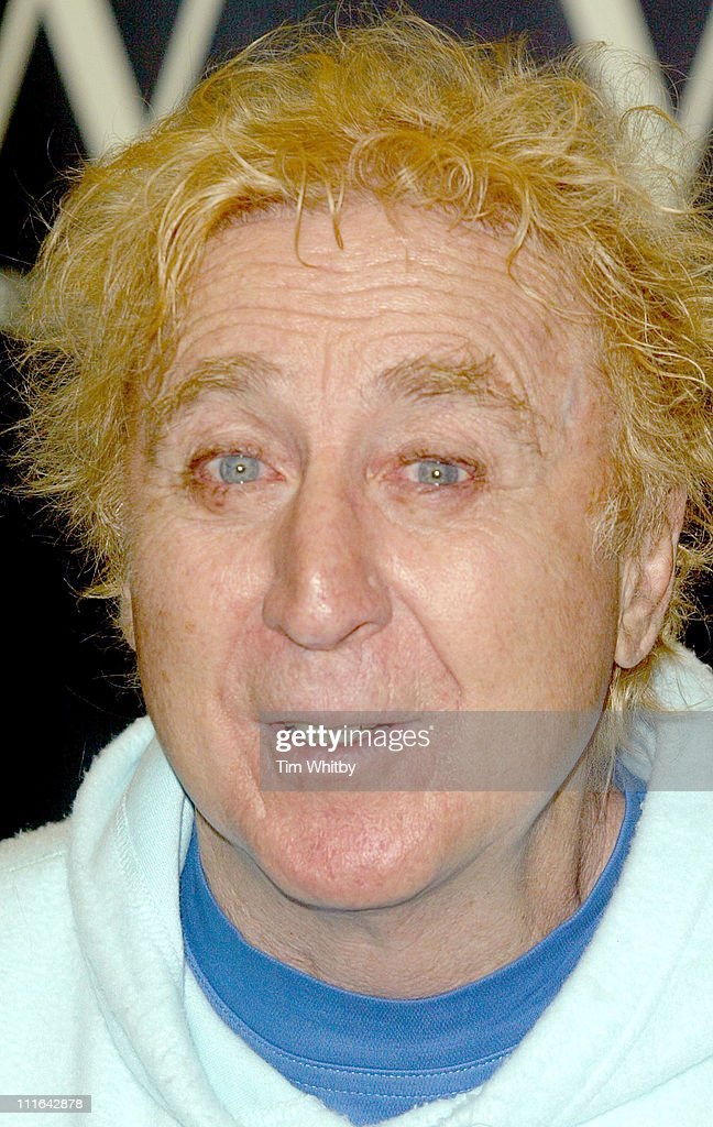 "Gene Wilder Signs His Book ""Kiss Me Like a Stranger"" at Waterstone's in London"
