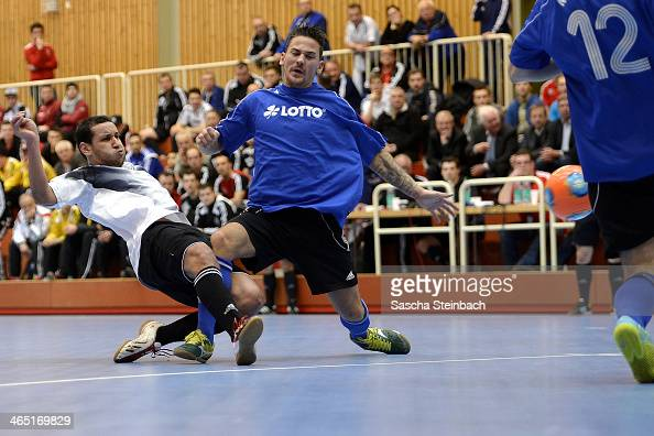 General action during the DFB Futsal State Cup 2014 match between Niedersachsen and Hamburg at Sport School Wedau on January 26 2014 in Duisburg...