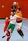 General action during the final match of the DFB Futsal Federal Cup 2015/2016 between Sachsen and Mittelrhein at Sport School Wedau on January 17...