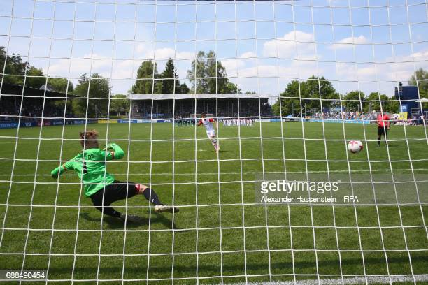 General action on day two of the Blue Stars/FIFA Youth Cup 2017 at the Buchlern sports complex on May 25 2017 in Zurich Switzerland