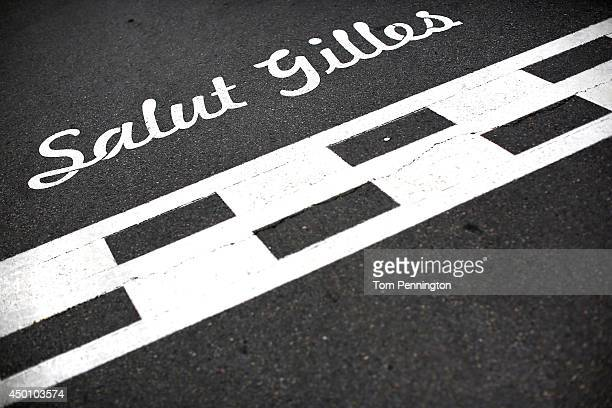 A general ahead of the Canadian Formula One Grand Prix at Circuit Gilles Villeneuve on June 5 2014 in Montreal Canada