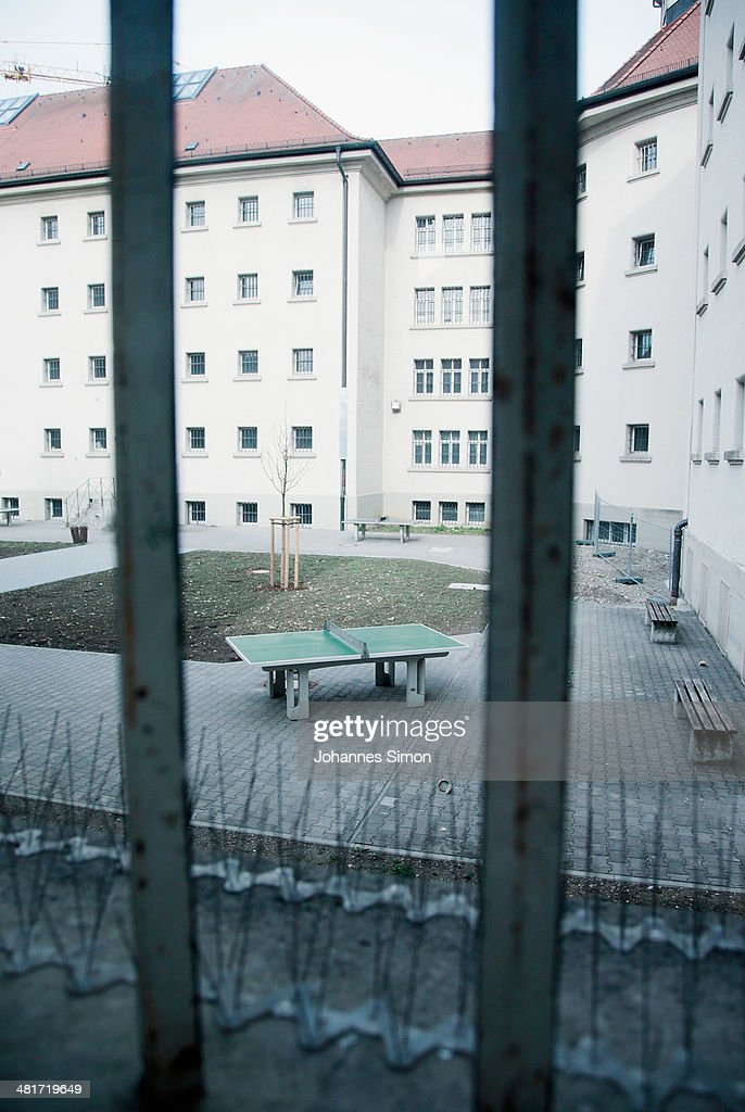 General and detail inside view of the Landsberg prison where former FC Bayern Muenchen president Uli Hoeness will serve his threeyear sentence is...