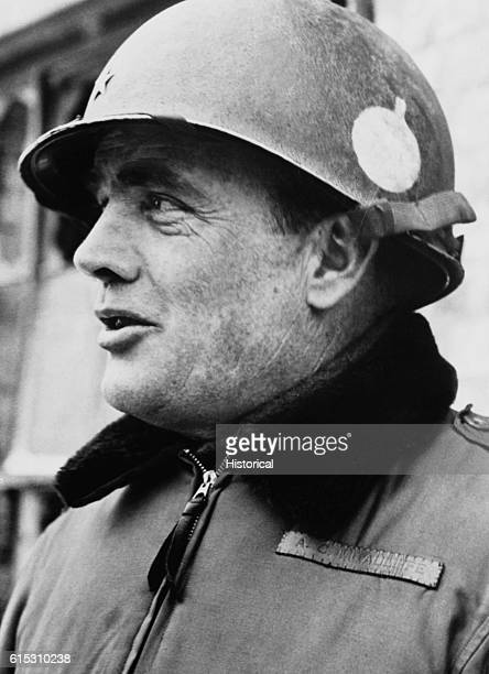 US General Anthony McAuliffe became known as the Battlin' Bastard of Bastogne during the Battle of the Bulge when he and paratroops from his 101st...