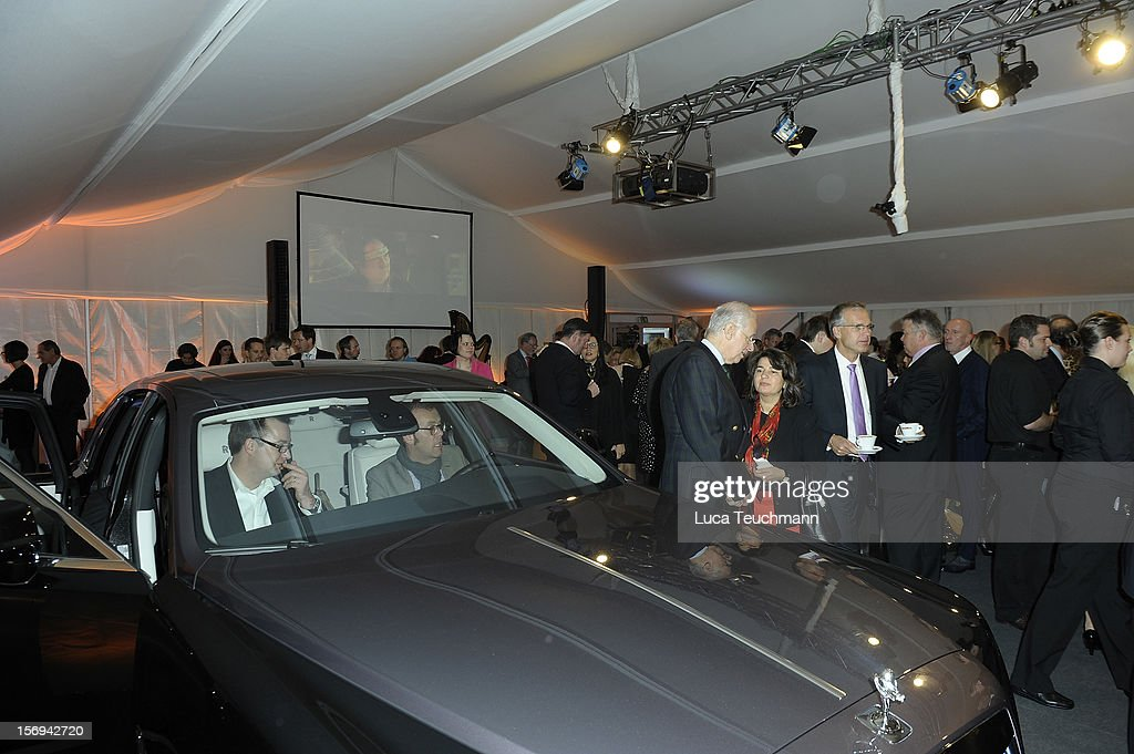 general athomsphere the Rolls-Royce Motorcars Berlin Opening on November 24, 2012 in Berlin, Germany.