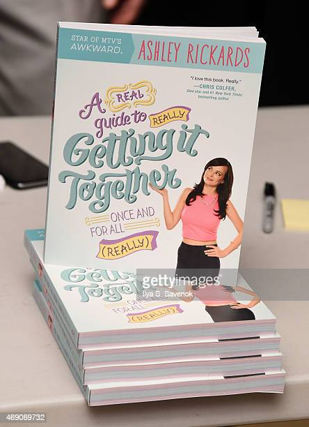 General atmosphere as Actress Ashley Rickards attends the AOL BUILD Speaker Series to discuss her new book 'A Guide To Really Getting It Together' at...