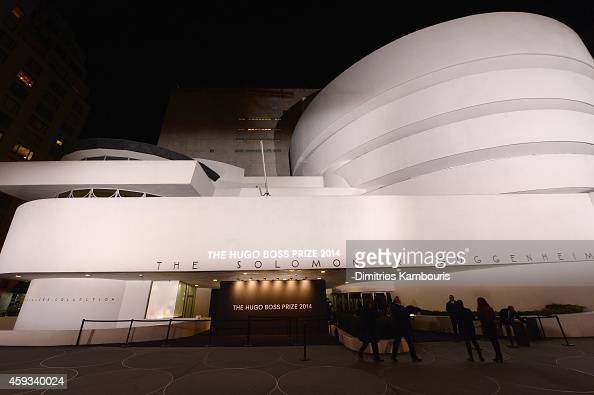 General atmosphere as the Hugo Boss Prize 2014 at Guggenheim Museum on November 20 2014 in New York City