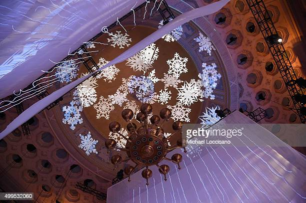 General atmosphere at 11th Annual UNICEF Snowflake Ball Honoring Orlando Bloom Mindy Grossman And Edward G Lloyd at Cipriani Wall Street on December...