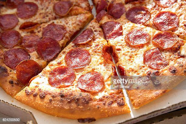 General atmosphere at a ceremony to officially rename the city as 'Terre Hut' in celebration of Pizza Hut's partnership with the NCAA and the...
