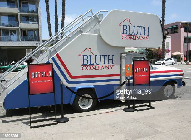 General atmosphere at 'Arrested Development' Bluth Stair Car at Santa Monica Pier on May 19 2013 in Santa Monica California