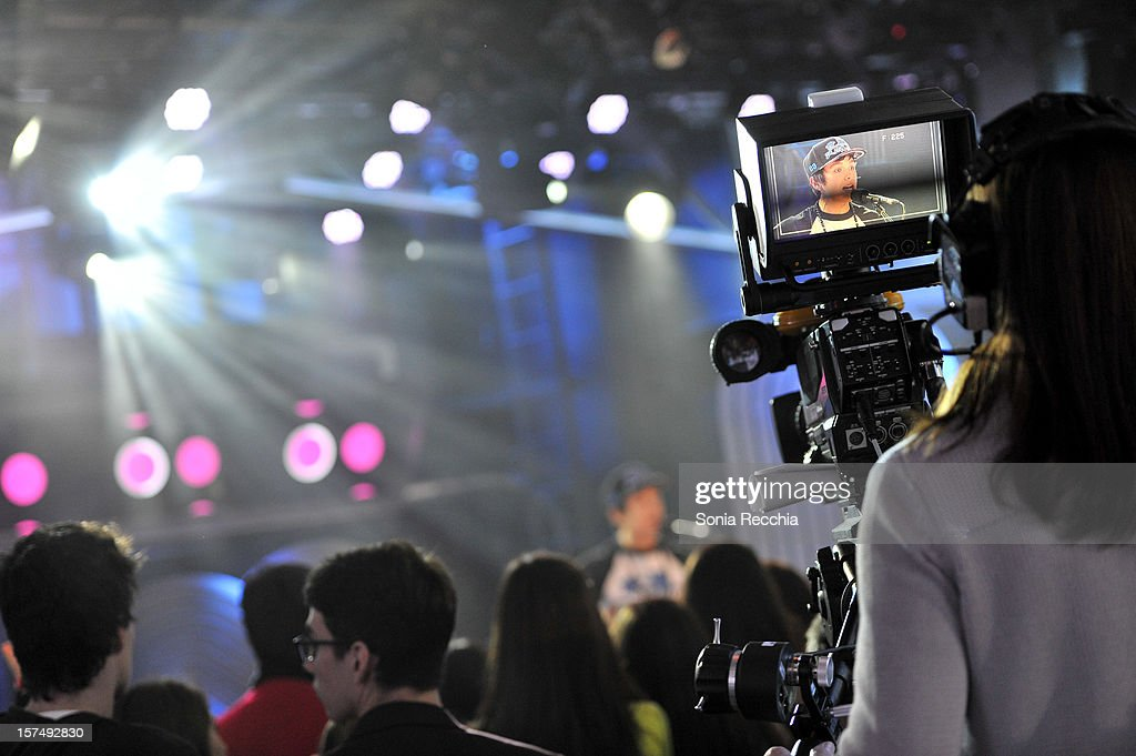 General atmosphere at Austin Mahone On New.Music.Live at MuchMusic Headquarters on December 3, 2012 in Toronto, Canada.
