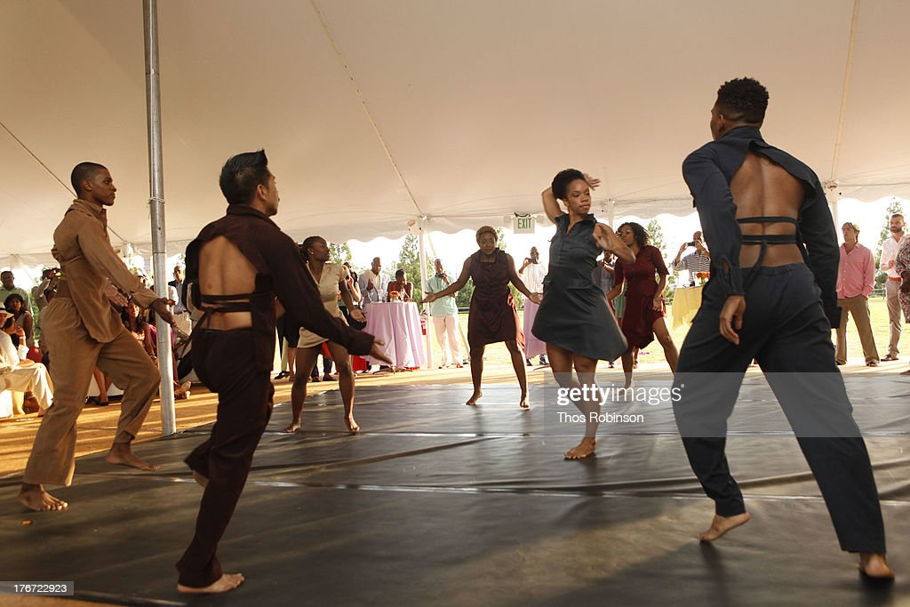 General atmosphere at Evidence, A Dance Company Hosts 10th Annual 'On Our Toes'... In The Hamptons Summer Benefit at The Hayground School on August 17, 2013 in Bridgehampton, New York.