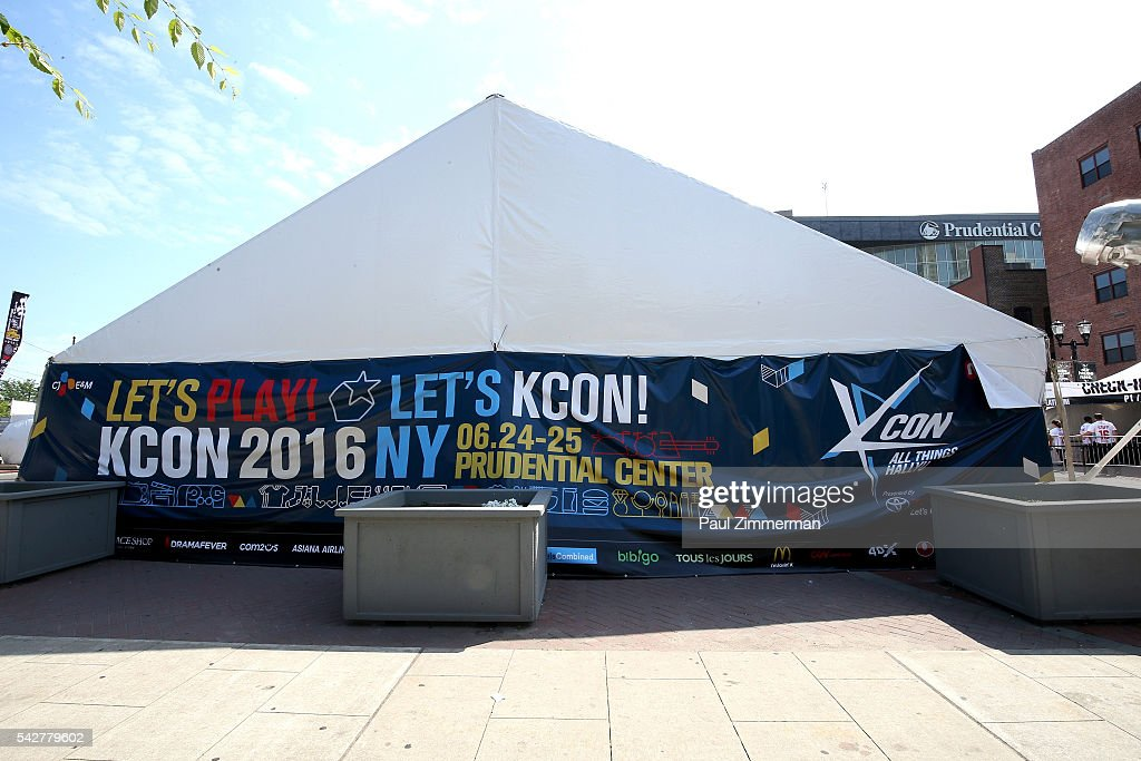 General atmosphere at KCON 2016 at the Prudential Center on June 24, 2016 in Newark, New Jersey.