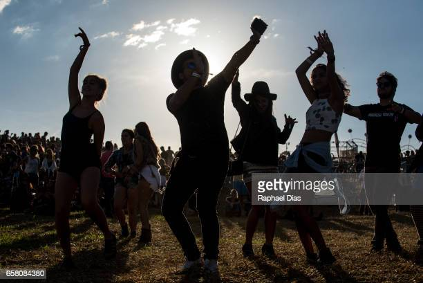General atmosphere at Lollapalooza Brazil day 2 at Autodromo de Interlagos on March 26 2017 in Sao Paulo Brazil