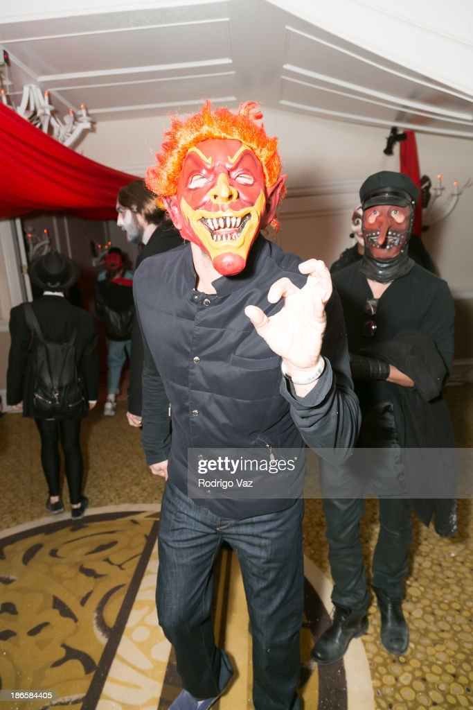 General atmosphere at Maroon 5's 9th Annual Halloween Party at The Sportsman's Lodge on October 31, 2013 in Studio City, California.