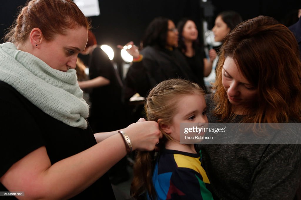 General atmosphere at Nike/Levi's Kids Rock! Runway Show on February 11, 2016 in New York City.