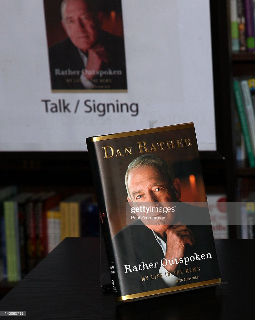 General atmosphere at 'Rather Outspoken: My Life In The News' at Barnes & Noble 82nd Street on May 2, 2012 in New York City.