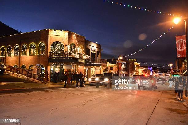 General Atmosphere at the 2015 Sundance Film Festival on January 23 2015 in Park City Utah