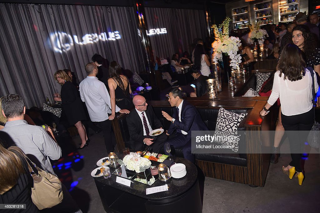 General atmosphere at the 2nd Annual Lexus Short Films 'Life is Amazing' After Party presented by The Weinstein Company and Lexus at Dream Downtown on August 6, 2014 in New York City.