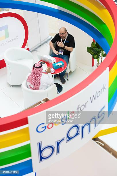 General Atmosphere at the 35th GITEX Technology Week at Dubai World Trade Centre on October 20 2015 in Dubai United Arab Emirates