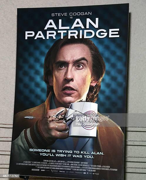 General atmosphere at the 'Alan Partridge' New York screening at Landmark's Sunshine Cinema on April 2 2014 in New York City
