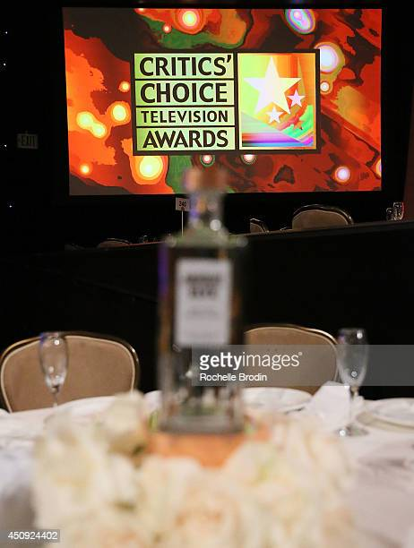 General atmosphere at the awards show featuring Absolut ELYX And The Glenlivet At The Critics Choice Television Awards at The Beverly Hilton Hotel on...