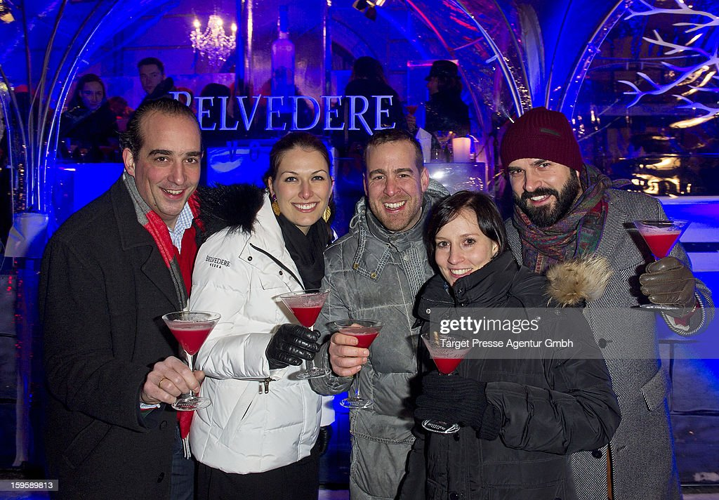 General atmosphere at the Belvedere Ice Lounge during the Mercedes-Benz Fashion Week Autumn/Winter 2013/14 on January 16, 2013 in Berlin, Germany.