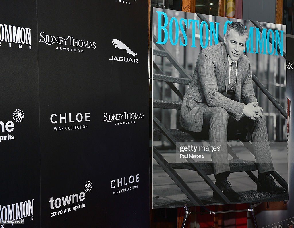 General atmosphere at the Boston Common Magazine Celebration of its Spring Issue Hosted by Cover Star, Matt LeBlanc on February 20, 2014 in Boston, Massachusetts.