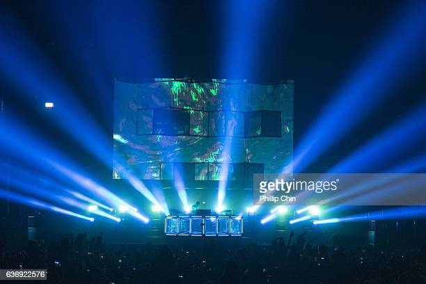 General atmosphere at the Contact Winter Music Festival at BC Place on December 26 2016 in Vancouver Canada