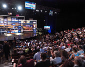 General atmosphere at the Comedy Central's 'The Daily Show with Trevor Noah Present The 2016 Democratic National Convention Let's Not Get Crazy' more...