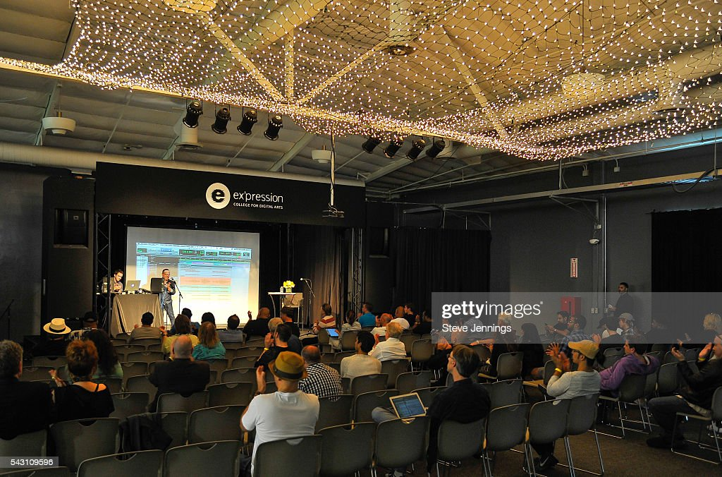 General atmosphere at the GRAMMY Pro - Art Of The Craft: Vocal Production at Ex'pression College on June 18, 2016 in Emeryville, California.