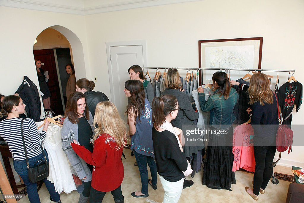 General Atmosphere at the Johnny Was Holiday Gifting Suite at Chateau Marmont on December 13, 2012 in Los Angeles, California.