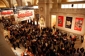 General atmosphere at The Metropolitan Museum of Art's Reception Sponsored By Amira Foods For Opening Of 'Sultans Of Deccan India 15001700 Opulence...